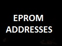 Eprom Addresses